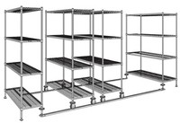 High Density Wire Shelving