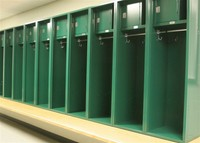 Open Front Lockers