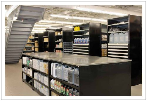 Automotive Parts Storage Equipment